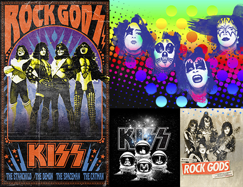 Kiss Collage.