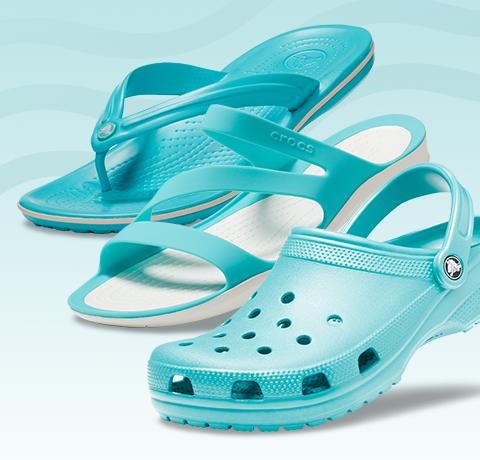 Crocband flip & Swiftwater Sandal W & Classic Clog